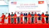Lực lượng gìn giữ hòa bình tiếp nhận cơ sở đào tạo hiện đại