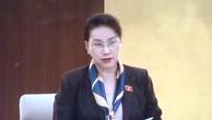 Chủ tịch Quốc hội Nguyễn Thị Kim Ngân phát biểu bế mạc phiên họp. Ảnh: VGP