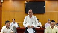 Tổ trưởng Tổ công tác Mai Tiến Dũng chuyển lời của Thủ tướng Nguyễn Xuân Phúc khen ngợi Bộ Công Thương. Ảnh: VGP