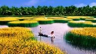 ĐBSCL là một vùng châu thổ trù phú - nơi trú ngụ của khoảng 18 triệu người dân Việt Nam. Ảnh Internet