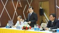 Phó Thủ tướng Trịnh Đình Dũng nói hội nghị là cơ hội để huy động các sáng kiến cho Chính phủ, Thủ tướng Chính phủ về các quyết sách, nhiệm vụ, giải pháp ưu tiên cấp bách định hình chuyển đổi mô hình phát triển ĐBSCL theo hướng bền vững, thích ứng với biến