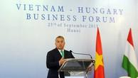 Thủ tướng Hungary Orbán Viktor phát biểu tại Diễn đàn. Ảnh: VGP