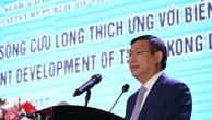 Phó Thủ tướng Vương Đình Huệ, Trưởng Ban Chỉ đạo Tây Nam Bộ phát biểu tại hội nghị. Ảnh: VGP