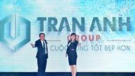 Lãnh đạo Công ty công bố thương hiệu mới Trần Anh Group.