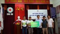 PVFCCo hỗ trợ nạn nhân bão số 10 tại Quảng Bình, Hà Tĩnh
