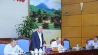Phó Thủ tướng Trương Hoà Bình chủ trì cuộc họp. Ảnh: VGP