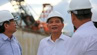 Bí thư Đà Nẵng Trương Quang Nghĩa kiểm tra tiến độ thi công hầm chui nút giao Nguyễn Tri Phương- Điện Biên Phủ.