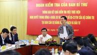 Ủy viên Bộ Chính trị, Bí thư TƯ Đảng, Trưởng ban Tuyên giáo TƯ Võ Văn Thưởng phát biểu tại cuộc họp. Ảnh: Lê Tiên