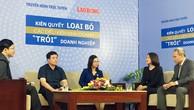 Tọa đàm Kiên quyết loại bỏ các điều kiện kinh doanh, diễn ra ngày 18/10, tại Hà Nội. Ảnh: Nguyễn Thủy