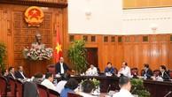 Thường trực Chính phủ làm việc với lãnh đạo tỉnh Bắc Ninh. Ảnh: VGP