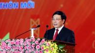Phó Thủ tướng Phạm Bình Minh phát biểu tại Lễ kỷ niệm. Ảnh VGP