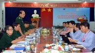 Đồng chí Đỗ Ngọc Nam - Chỉ huy trưởng BĐBP tỉnh phát biểu tại Hội nghị. Ảnh: Ái Kiều