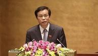 Tổng Thư ký Quốc hội Nguyễn Hạnh Phúc. Ảnh Internet