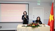 Phó Chủ tịch nước Đặng Thị Ngọc Thịnh phát biểu. Ảnh: TTXVN