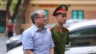 Ông Phạm Công Danh tại phiên tòa sơ thẩm đại án OceanBank hồi tháng 8-2017