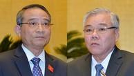 Bộ trưởng Bộ Giao thông vận tải Trương Quang Nghĩa và Tổng Thanh tra Chính phủ Phan Văn Sáu.