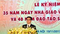Phó Thủ tướng phát biểu tại lễ kỷ niệm. Ảnh: VGP