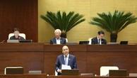 Thủ tướng phát biểu giải trình trước Quốc hội