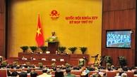 Thông cáo số 21 Kỳ họp thứ 4, Quốc hội khóa XIV