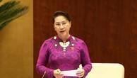 Chủ tịch Quốc hội Nguyễn Thị Kim Ngân. Ảnh: TTXVN