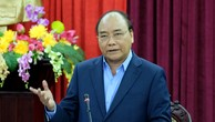 Thủ tướng phát biểu tại buổi làm việc với lãnh đạo chủ chốt tỉnh Bắc Kạn. Ảnh: VGP