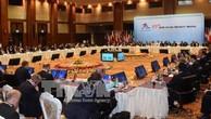 Hội nghị Bộ trưởng Ngoại giao Diễn đàn Hợp tác Á - Âu (ASEM) lần thứ 13 khai mạc sáng 20/11, tại thủ đô Nay Pyi Taw (Myanmar). Ảnh: TTXVN