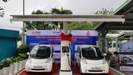 Trạm sạc có khả năng sạc đầy nguồn điện cho ô tô trong vòng 30 phút, đi được 160 km. Ảnh VGP