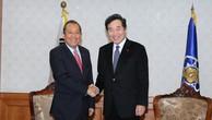 Phó Thủ tướng Trương Hòa Bình hội kiến Thủ tướng Hàn Quốc