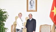 Thủ tướng Nguyễn Xuân Phúc tiếp Bộ trưởng Ngoại giao Thụy Điển