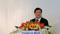 """Khánh thành nhà máy sản xuất xe khách """"made in Vietnam"""""""