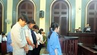 Các bị cáo nghe đại diện Viện KSND TP.HCM đề nghị mức án