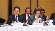 Ông Vũ Tiến Lộc-Chủ tịch VCCI: Khép lại khoảng cách giữa chính sách và thực thi. Ảnh: Lê Tiên