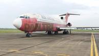 """Chiếc Boeing 727 - 200 bị """"bỏ rơi"""" ở sân bay Nội Bài 10 năm nay"""