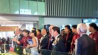 """Bà Lưu Thị Thanh Mẫu giới thiệu đến khách mời """"căn hộ xanh chính phẩm LEED theo chuẩn khách sạn 5 sao"""" Diamond Lotus Riverside"""