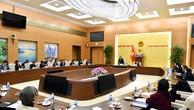Quang cảnh họp báo giới thiệu Hội nghị APPF lần thứ 26. Ảnh: VGP