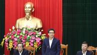 Phó Thủ tướng Vũ Đức Đam nhấn mạnh Quảng Bình cần biến những tiềm năng, lợi thế thành động lực phát triển bền vững, theo hướng tốt nhất, có lợi nhất. Ảnh: VGP