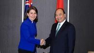 Thủ tướng tiếp Lãnh đạo bang New South Wales, Australia