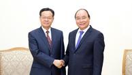 Thủ tướng tiếp Chủ tịch Khu tự trị dân tộc Choang Quảng Tây