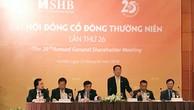 ĐHĐCĐ SHB: đưa công ty tài chính tiêu dùng vào hoạt động, tăng vốn điều lệ lên 13.240 tỷ