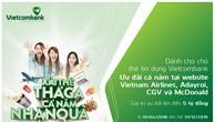Chương trình xài thẻ thả ga, cả năm nhận quà của Vietcombank