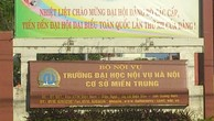 Trường Đại học Nội vụ Hà Nội: Phát hành HSMT nhỏ giọt?