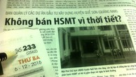 """Quảng Nam vào cuộc vụ """"không bán HSMT vì thời tiết"""""""