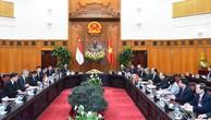 Singapore cam kết là 1 trong 4 nhà đầu tư lớn nhất của Việt Nam