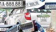 Đấu giá biển số xe: Phải xác định được biển số xe là tài sản