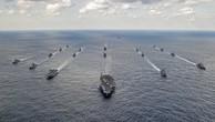 Tàu chiến Nhật gia nhập với tàu chiến Mỹ tiến về bán đảo Triều Tiên
