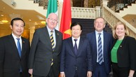 Hoạt động của Phó Thủ tướng Trịnh Đình Dũng tại Ireland