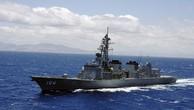 Chiến hạm Nhật diễn tập cùng tàu sân bay Mỹ đang đến Triều Tiên
