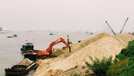 Hà Nội siết chặt hoạt động khai thác cát