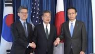 Mỹ - Nhật - Hàn họp bàn cách gây sức ép với Triều Tiên