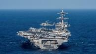 Cận cảnh tàu sân bay Mỹ trên đường tới bán đảo Triều Tiên